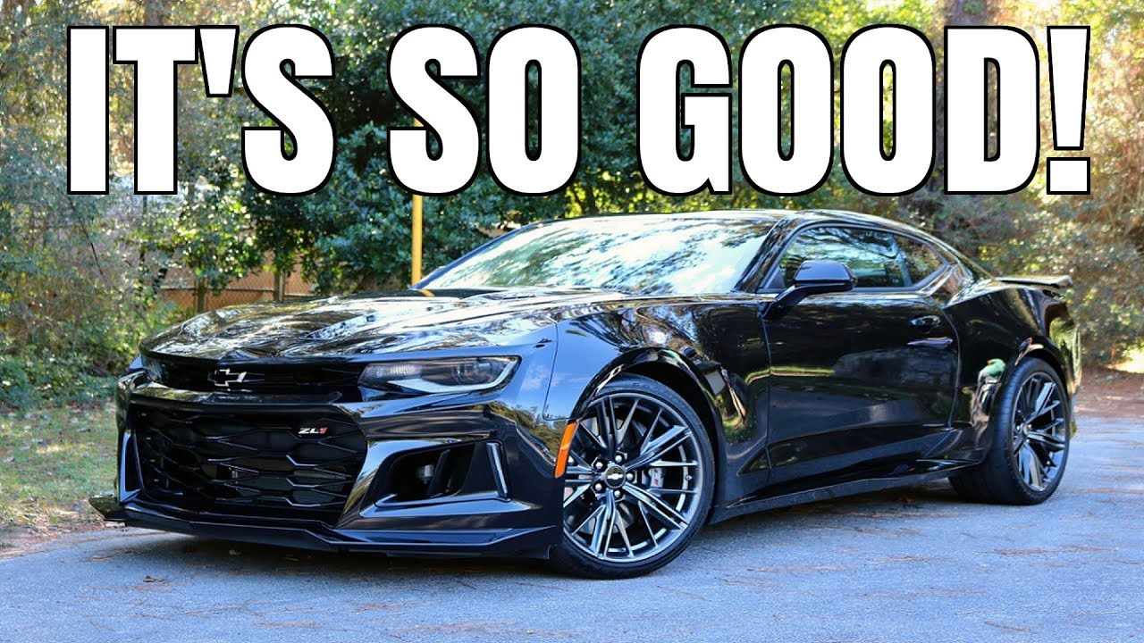 2018 Chevrolet Camaro Zl1 Review The Almost Perfect Car