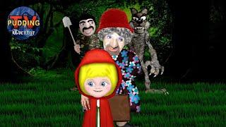 Rødhette og ulven - Brødrene Grimm