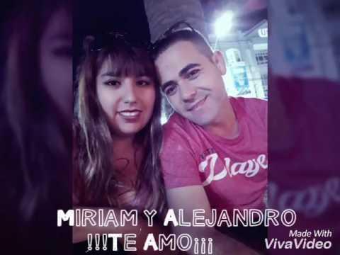 Miriam y Alejandro Feliz Aniversario