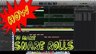 How to make Snare Rolls - Trap Hip Hop - EastWest Beats Tutorial