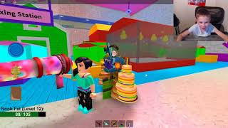 Let's Play Some Roblox! Make a Cake Back for Seconds | Theme Park Tycoon 2 | Bloxburg