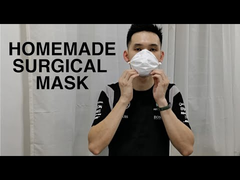 surgical flu face mask