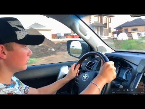 ШКОЛЬНИК РАЗОГНАЛ ПРАДО 150 - ТАПОК В ПОЛ ! КАТАЮ ДРУЗЕЙ Toyota Land Cruiser Prado 2018