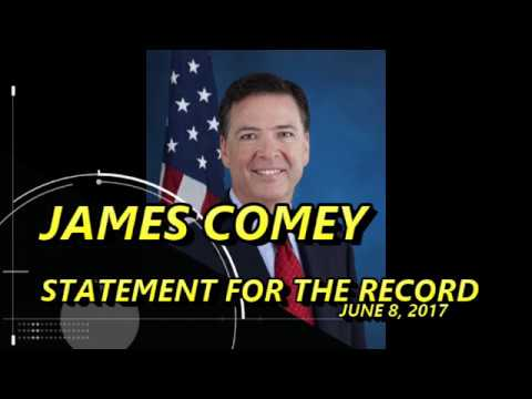 James Comey Statement for the Record June 8, 2017