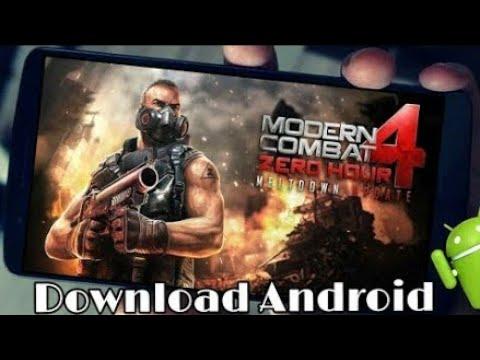 MODERN COMBAT 4  APK+OBB ANDROID 7.O ATUALIZADO 2019 Online E Offline