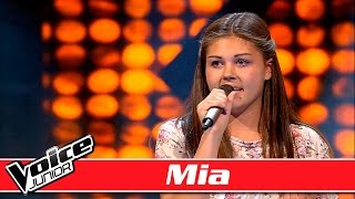 Mia synger: Meghan Trainor – 'Dear Future Husband' – Voice Junior / Blinds