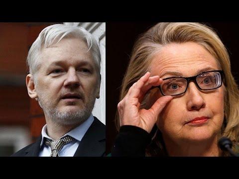 WikiLeaks Hillary Emails News Teased by Julian Assange