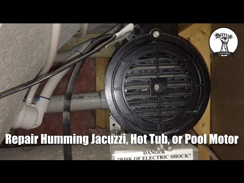 Fix Jacuzzi, Hot Tub, or Pool Pump That Only Hums