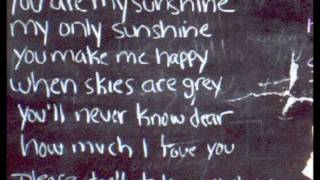 you are my sunshine - johnny cash