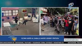 Último Adiós al Caballo Mayor Johnny Ventura