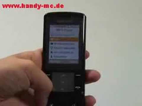 Samsung SGH U900 Soul Bedienung