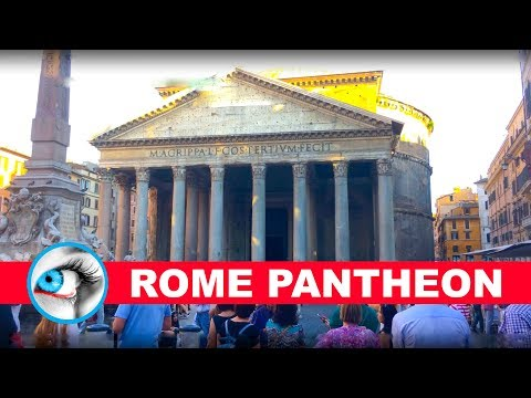 PANTHEON - ROME - ITALY - 4K 2017 - TRAVEL GUIDE