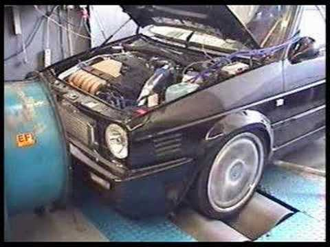 golf mk2 vr6 turbo on dyno youtube. Black Bedroom Furniture Sets. Home Design Ideas