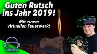 Ich wünsche euch einen guten Rutsch ins Jahr 2019 mit einem virtuellen Feuerwerk!!