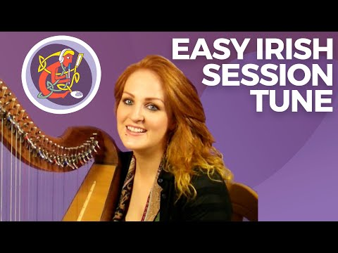 Irish (Celtic) Harp Lesson: Learn An Irish Session Tune 'The Ballydesmond Polka'