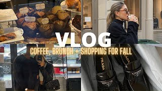 VLOG | A fall Sunday in New York City getting coffee and brunch in SoHo + walking around exploring!