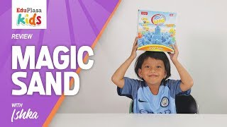 MAGIC SAND   Pasir Kinetik - Kinetic Sand   Review Game - Toy Review