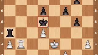 Видеоуроки по шахматам для детей и начинающих с нуля. Шедевр Рубинштейна