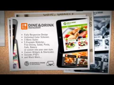 Dine & Drink – Restaurant Responsive WP Theme Download