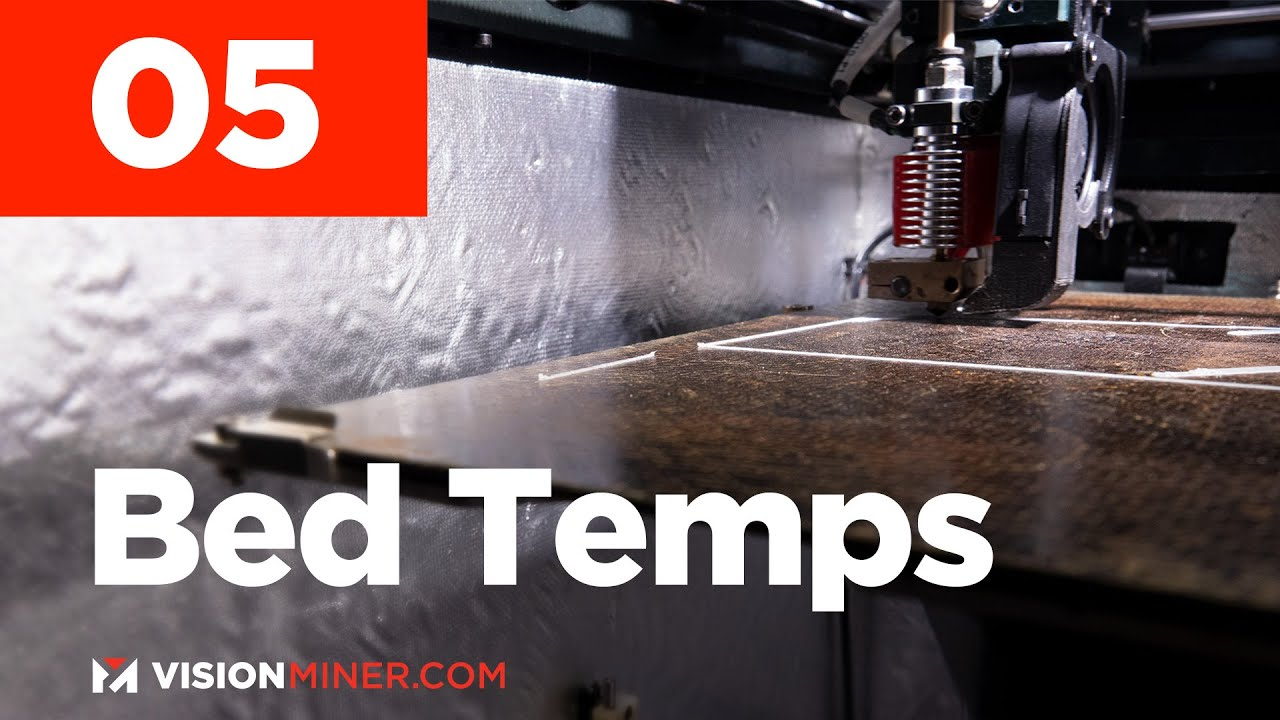 Printer Bed Temps Too Hot Or