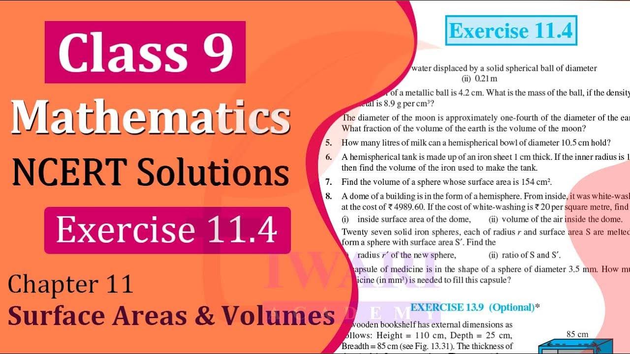 Ncert Solutions Class 9 Maths Exercise 13 8 Math Exercises Math Solutions [ 720 x 1280 Pixel ]