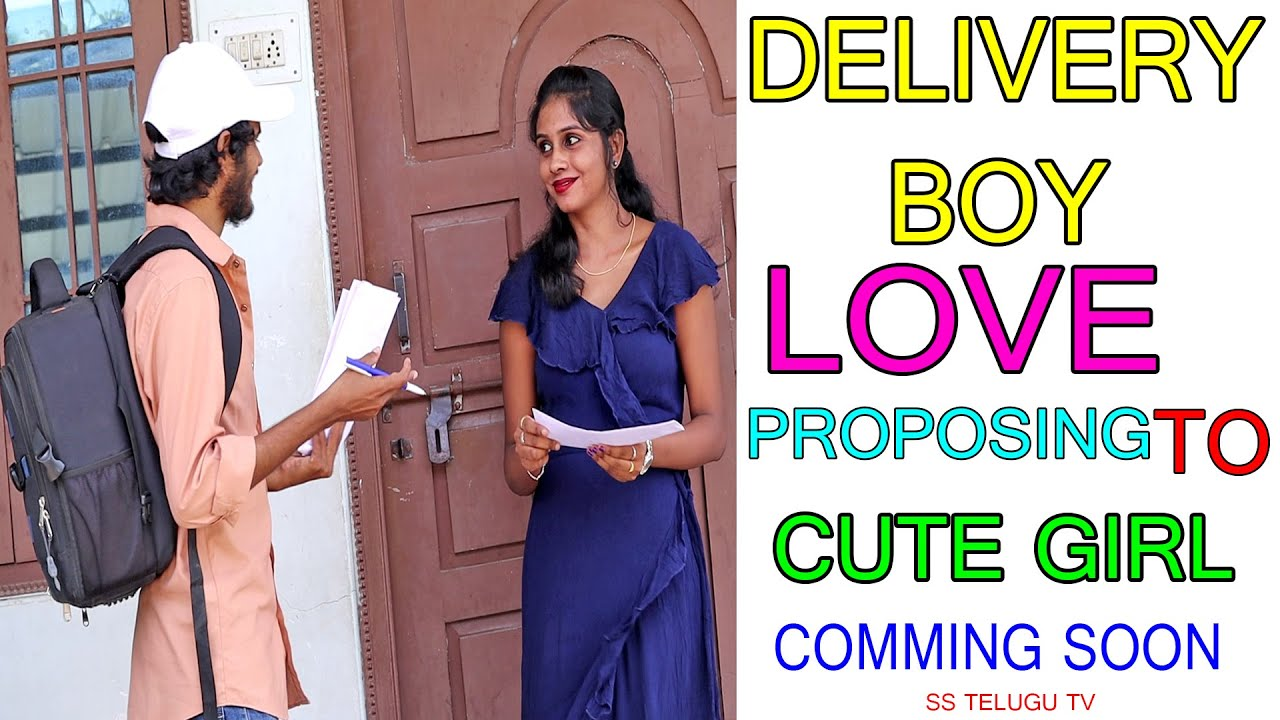 Delivery Boy Love Proposing To Cute Girl  Prank Gone Crazy Promo | Next Level Proposal|Telugu Pranks