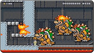 Super Mario Maker All Sample Courses