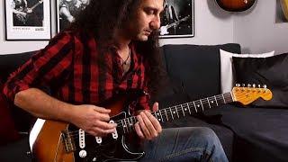 Pentatoniche rock blues e esercizi tecnici [SUB ENG] - Rock/Blues guitar lesson by Vincenzo Grieco