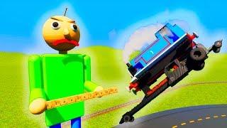 Thomas Tank Engine and Friends Train Vs Lego Baldi   Brick Rigs