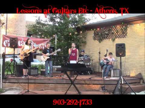 Angels and Outlaws at Guitars Etc in Athens TX