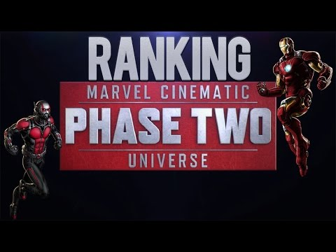 Ranking the Marvel Cinematic Universe Phase 2 Movies