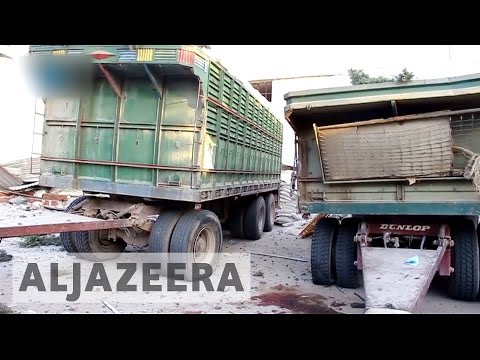 Russia and Syria deny responsibility for aid convoy strike