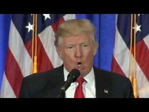 Watch Donald Trump explode on CNN journalist at press conference