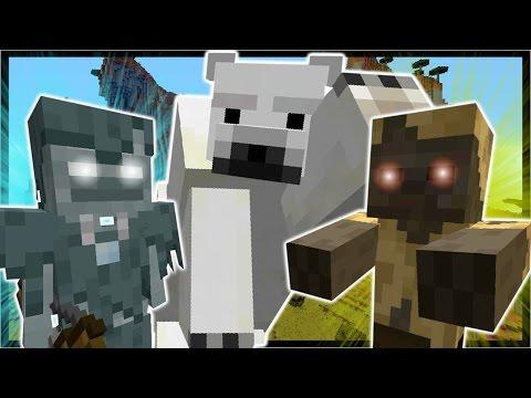 Minecraft 1.10 | NEW MOBS | HUSK, STRAY, POLAR BEARS, NO GRAVITY, STRUCTURE BLOCKS | Snapshot 16w20a