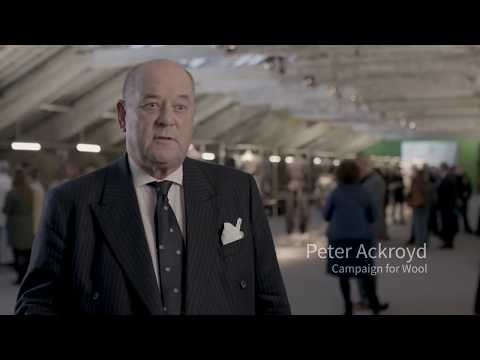 Peter Ackroyd (Campaign for Wool) on Future Fashion Factory