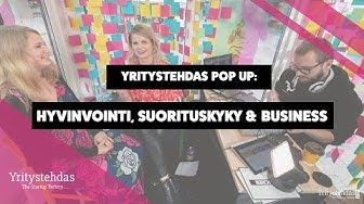 Kaisa Wallinheimo - Hyvinvointi, suorituskyky & business