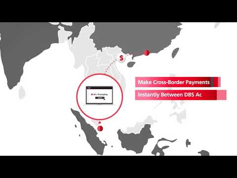 DBS PriorityPay. Instant cross border payments for corporates.