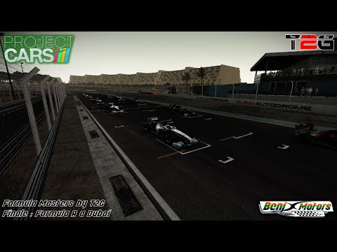 Project CARS | Formula Masters by T2G - Finale : Formula A @ Dubaï