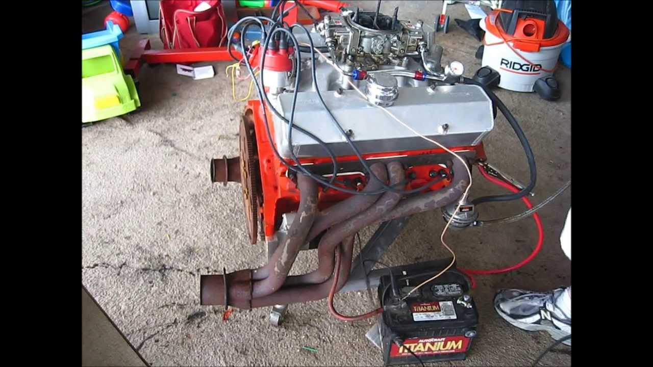 Chevy 350 test on engine stand YouTube – Run Engine Test Stand Wiring
