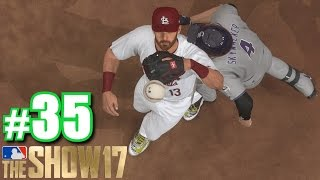RUNNING INTO THE FIRST BASEMAN! | MLB The Show 17 | Road to the Show #35