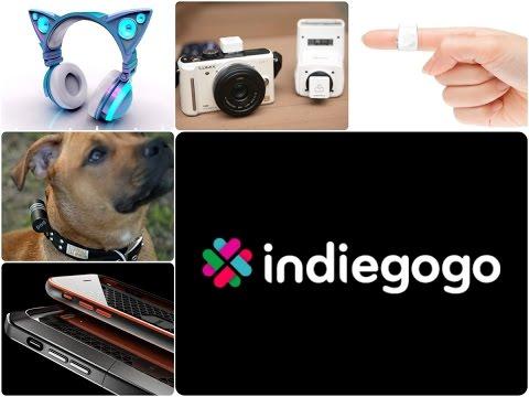 Лучшие проекты IndieGoGo - 12.10