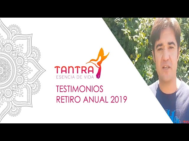 Retiro de Tantra 2019