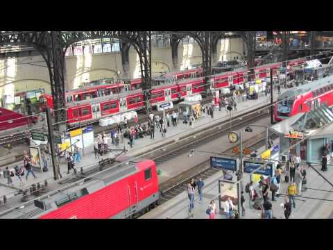 Hamburg Germany Train Station