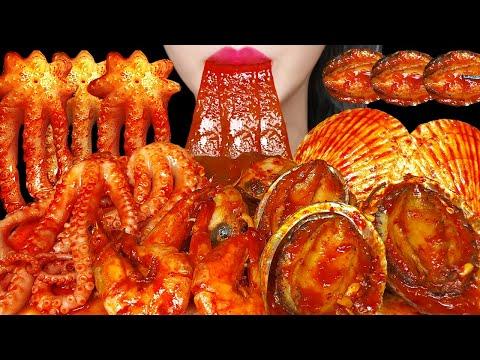 매운 해물찜 중국당면 먹방 ASMR 리얼사운드 SPICY SEAFOOD BOIL MUKBANG KOREAN
