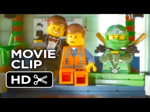 The LEGO Movie DVD Release CLIP - Enter The Ninjago (2014) - Animated Movie HD