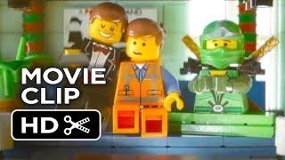 The LEGO Movie DVD Release CLIP - Enter The Ninjago (2014) - Animated Movie HD