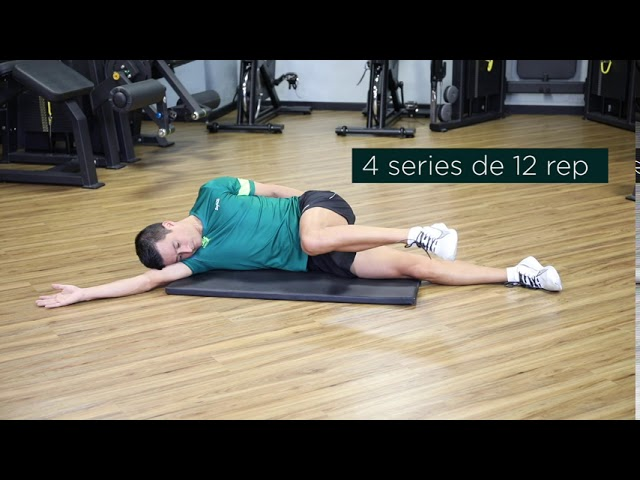 Extensión de rodilla de cubito lateral