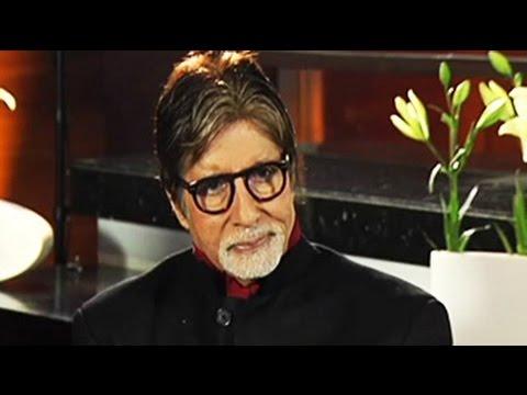 Don't deserve Bharat Ratna: Amitabh Bachchan