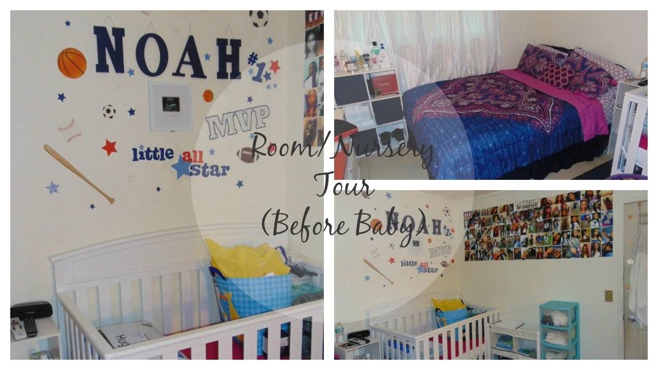 Teen Mom: Room/Nursery Tour (Before Baby) | 18 & Pregnant ...
