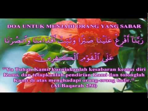 Doa Mohon Kesabaran dan Mohon Pertolongan